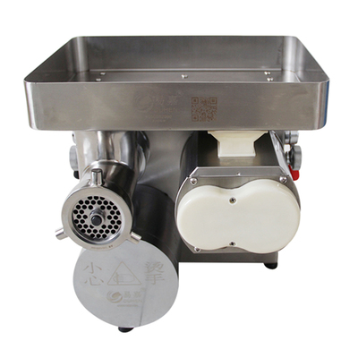 Yijia TJQ-128B Clutch Desktop Commercial Meat Grinder Slicing Dual-purpose Machine